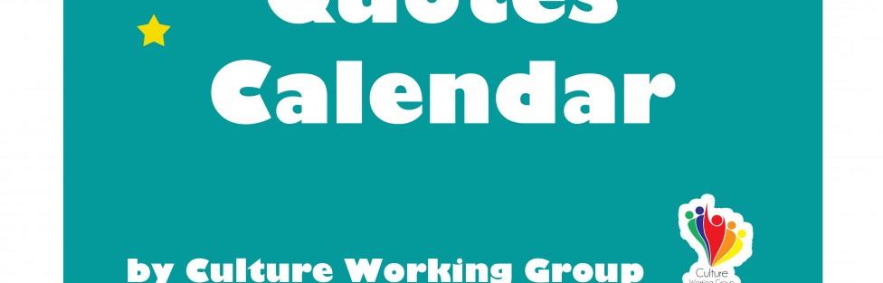 Quotes Calendar 2015